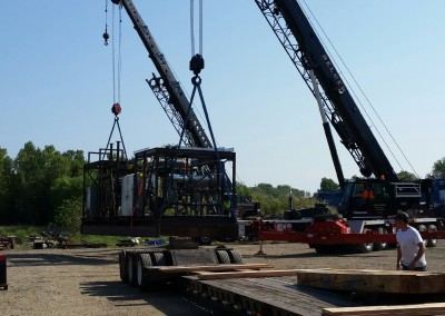 Loading of Skid No. 1 The Stabiliser